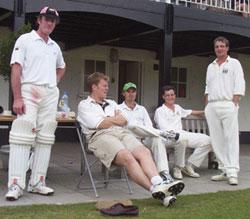 Leng, Goss, Kowalski, Grindrod, Seeckts relax as victory unfolds