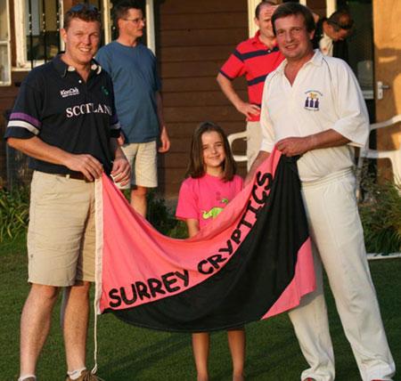 Seeckts handing captaincy to Goss - Woking 2006