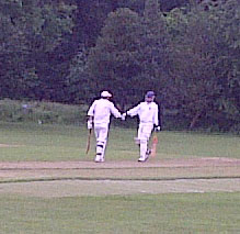 Hoggers reaching his century