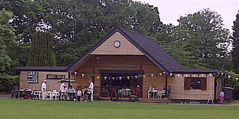 new pavillion at Claygate