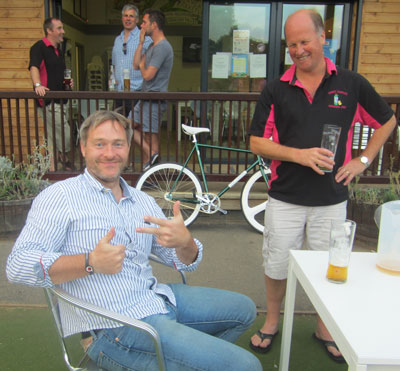 Mars and Rod at Claygate 2013