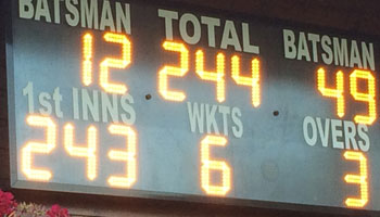 Claygate score