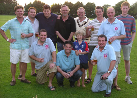 Team at Woking & Horsell
