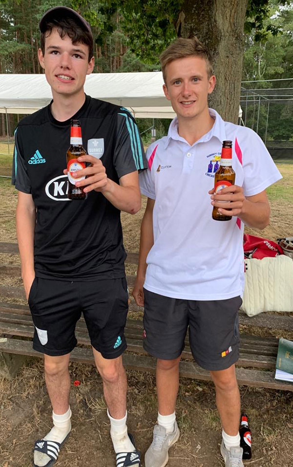 James grindrod and toby seeckts blackheath 2020