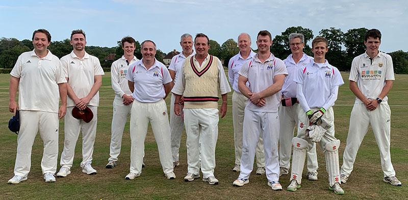 Team at Windsor Great Park CC
